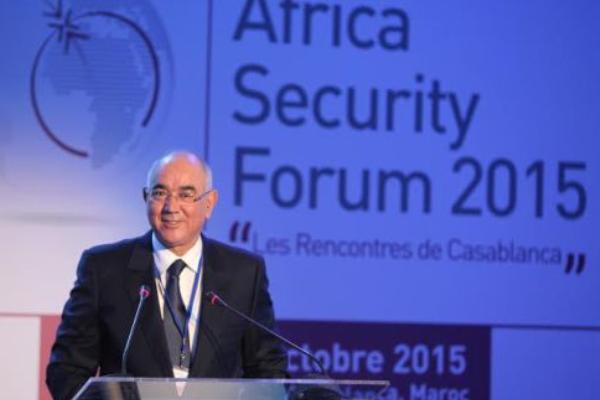 الشرقي اضريس في منتدى الأمن بإفريقيا