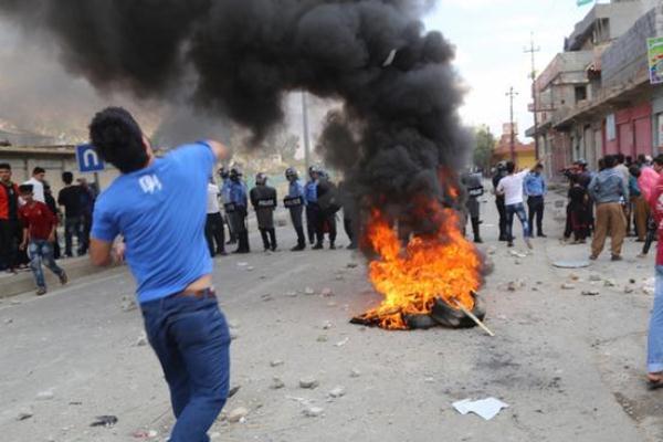 تجدد الاحتجاجات في مدن في اقليم كردستان العراق