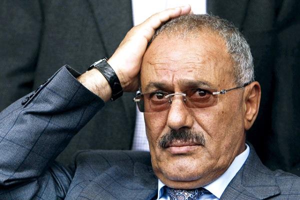 الرئيس المخلوع علىى عبد الله صالح