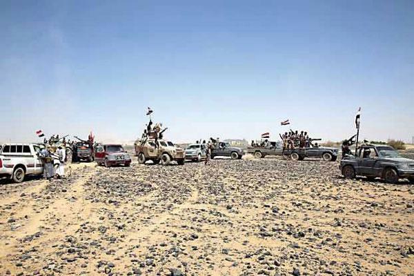 تقدم جديد لمقاومي اليمن