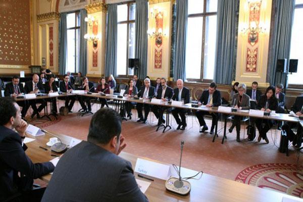 اجتماع سابق للمعارضة السورية - أرشيف
