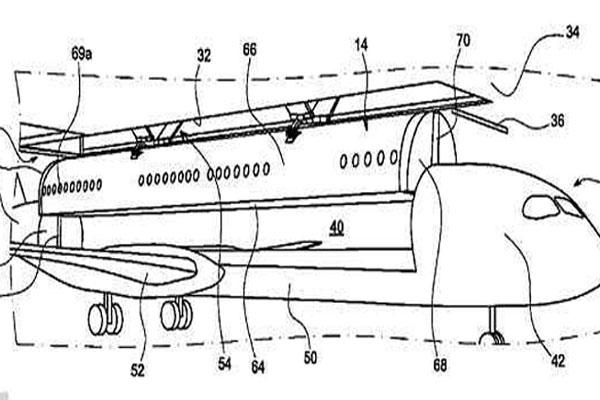 تصور أولي لطائرات المستقبل التي تعتمد مبدأ التركيب والانفصال