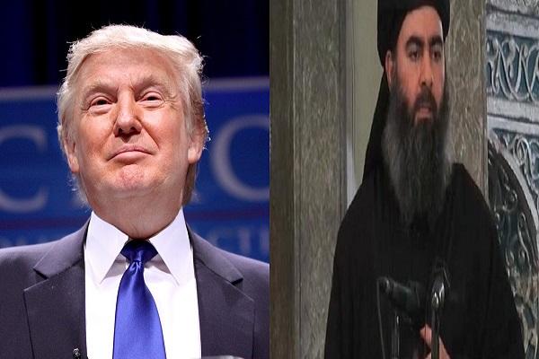 زعيم تنظيم داعش والمرشح الأميركي دونالد ترامب