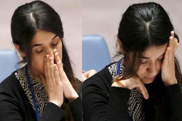 نادية مراد تقدم شهادتها باكية