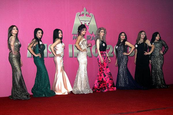 المشاركات في مسابقة ملكة جمال العراق