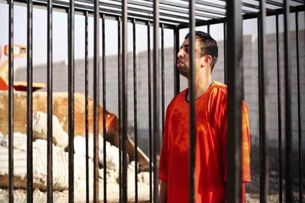 صورة نشرتها حسابات مناصرة لتنظيم داعش
