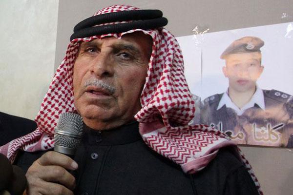 صافي الكساسبة والد الطيار الذي أعدمه داعش حرقًا
