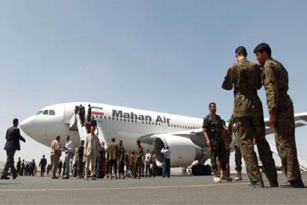 طائرة إيرانية في مطار صنعاء