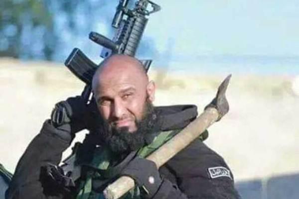 المقاتل العراقي أبو عزرائيل