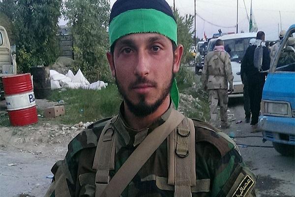 نوار محمد سنّي انضم لعصائب الحق الشيعية في بلدة العلم العراقية