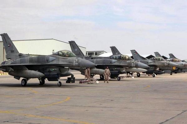 عاصفة الحزم بمشاركة المقاتلات الاماراتية
