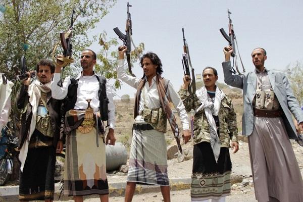 عناصر من المتمردين الحوثيين