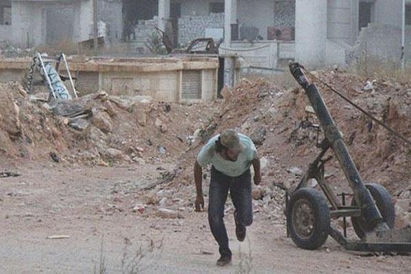 مدفع جهنم سلاح المعارضة الرادع في حلب
