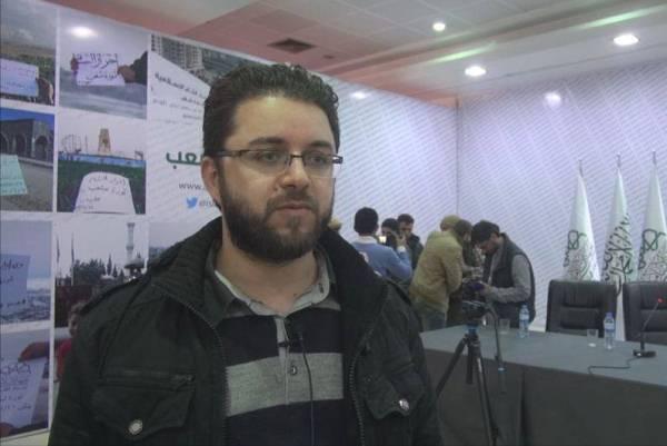 المتحدث العام باسم حركة احرار الشام الاسلامية أحمد قره علي