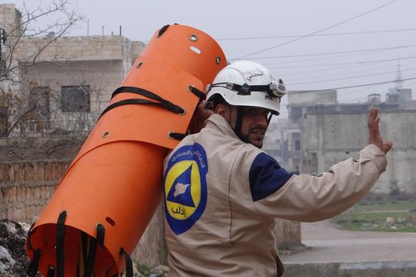 دفاع مدني ادلب
