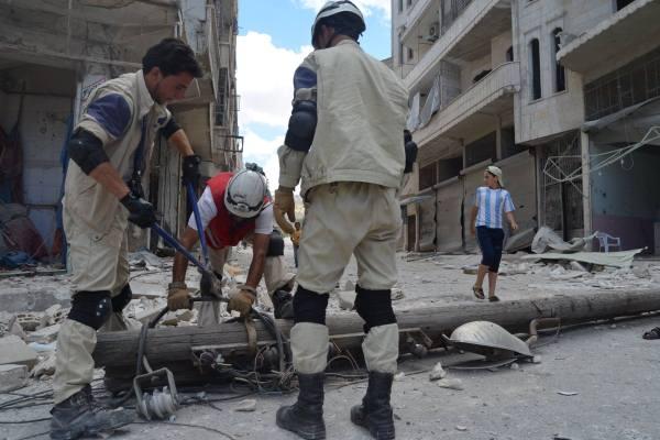 فريق للدفاع المدني في ادلب