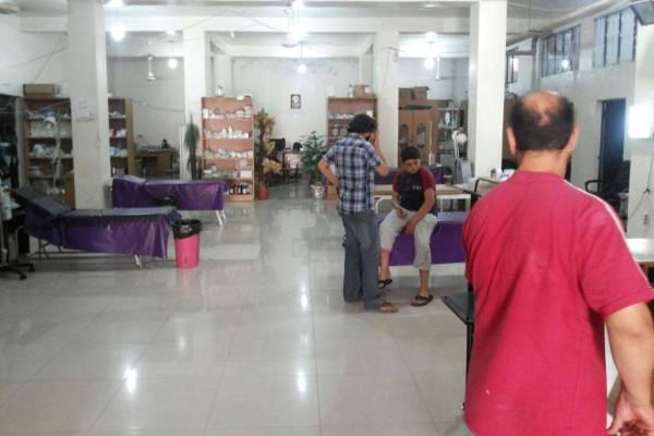 صور خاصة بالمستشفى الميداني في إدلب