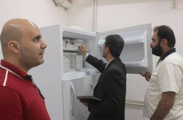 مدير صحة إدلب الحرة يتفقد المستشفيات