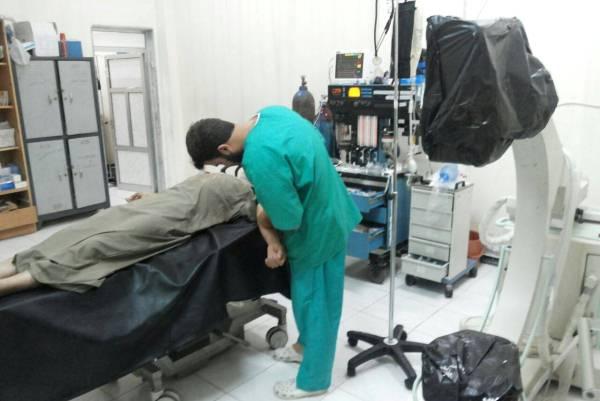 المستشفى الميداني في إدلب - خاص إيلاف