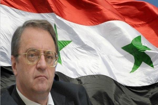 بوغدانوف اعلن عن مساعي عقد اجتماع المعارضة السورية