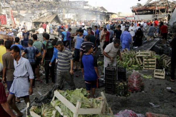 تفجير بشاحنة مفخخة في مدينة الصدر