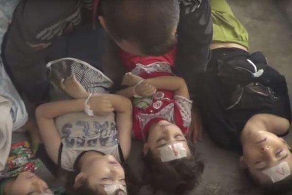 الغوطتان وأطفالهما ضحية عنف غير مبرر