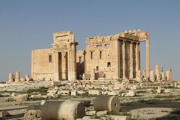 قصف سوري على مدينة تدمر