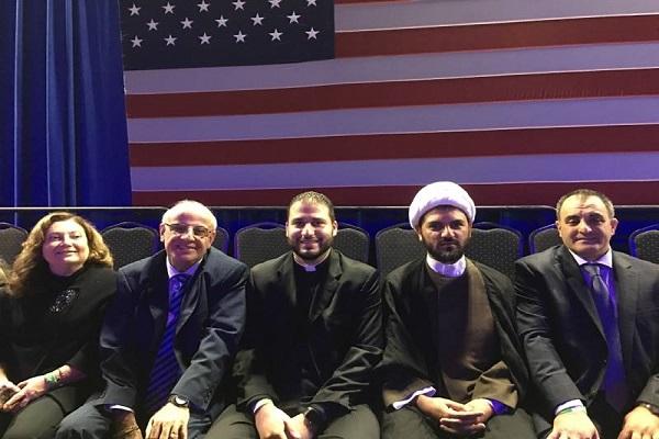 مسؤولو التحالف الشرق اوسطي لدعم ترامب