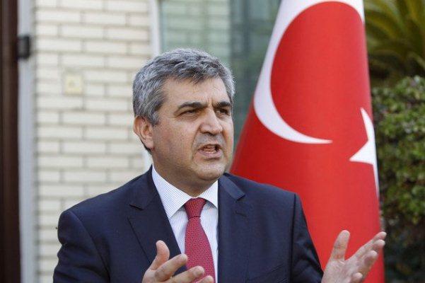 السفير التركي في بغداد فاروق قاوقجي
