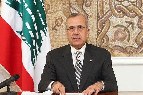 الرئيس اللبناني الأسبق ميشال سليمان