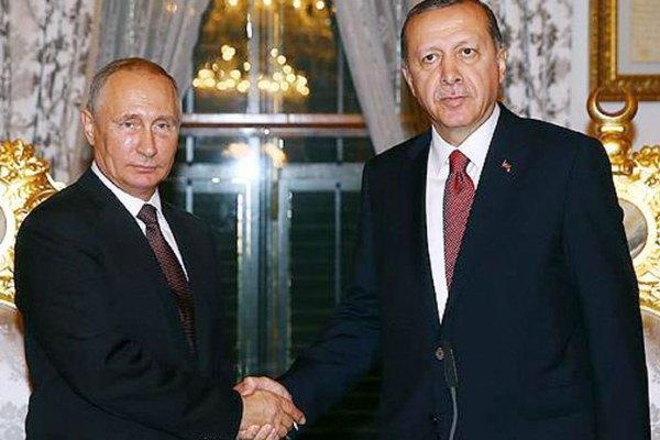 أردوغان وبوتين قبل قمتهما في اسطنبول