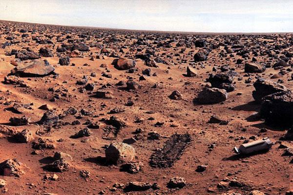 نتائج برنامج فايكنغ تعطي أدلة قوية على وجود حياة في المريخ