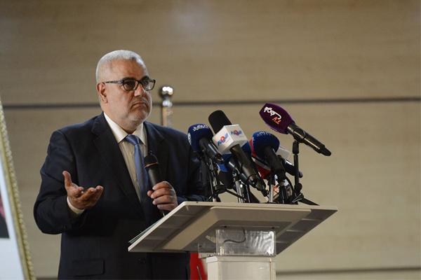 عبد الاله ابن كيران يتحدث في الدورة الاستثنائية للمجلس الوطني لحزب العدالة والتنمية اليوم