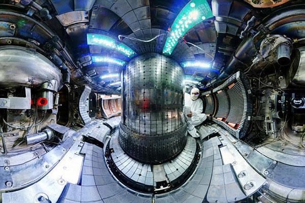 نجح العلماء في بلوغ هذا الضغط باستخدام مفاعل الكاتور ـ س مود توكاماك