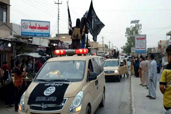 مواكب سيارة لتنظيم داعش في الموصل