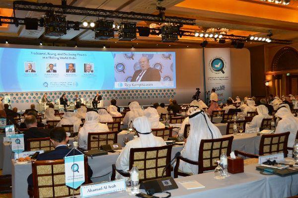 جانب من اعمال ملتقى ابوظبي الاستراتيجي الثالث
