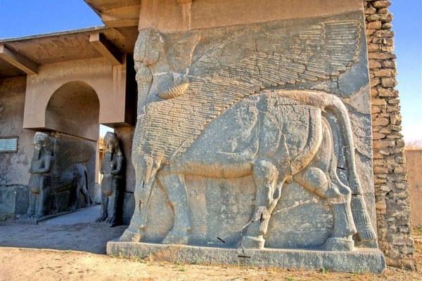 حصر أضرار تدمير داعش لمدينة نمرود الأثرية