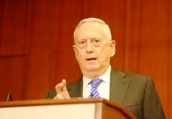 جيمس ماتيس محاضرا أمام مركز الدراسات الاستراتيجية والدولية في واشنطن