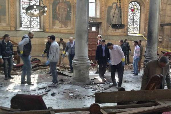 داعش أعلن مسؤوليته عن تفجير الكنيسة البطرسية