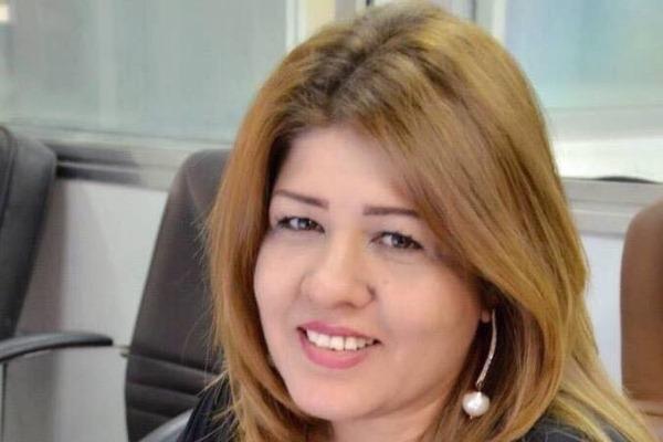 الصحافية المختطفة أفراح شوقي