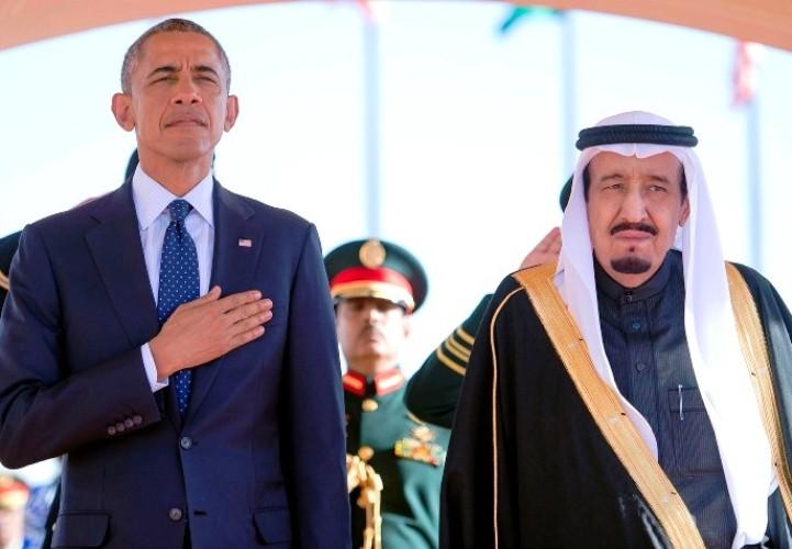 لقاء قمة سابق بين أوباما والملك سلمان