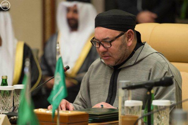 الملك محمد السادس في القمة الخليجية المغربية