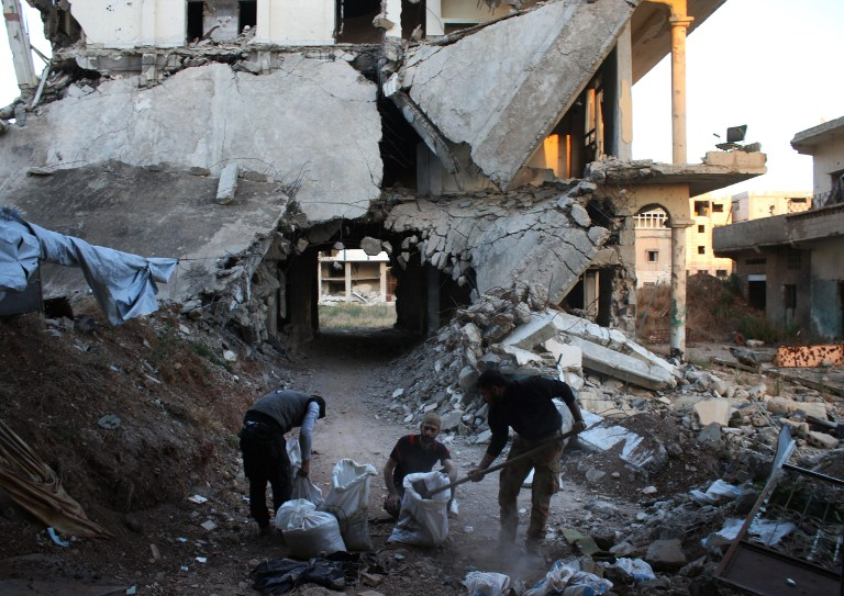 روسيا تجدد الإغارة على مدينة حلب