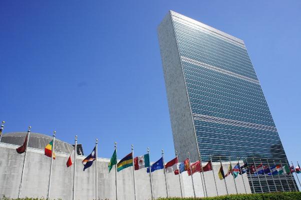ميثاق الأمم المتحدة في مادتيه 1 و2 ينص على تحريم أعمال العدوان