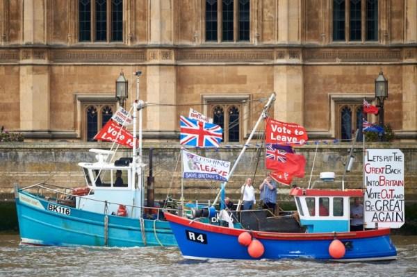 أنصار خروج بريطانيا من الإتحاد الأوروبي