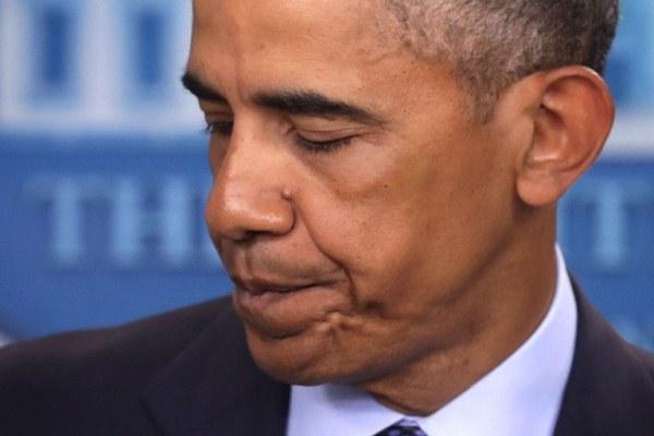 الرئيس الأميركي يلقي كلمة بعد الحادث
