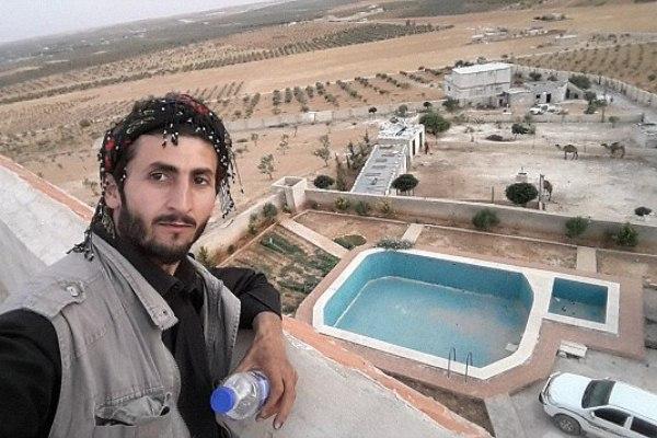 العثور على قصر أبو بكر البغدادي في منبج السورية