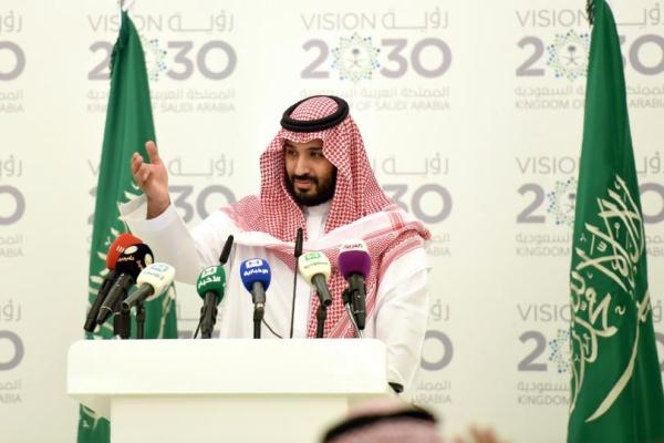 الأمير محمد بن سلمان متحدثًا عن رؤية السعودية 2030