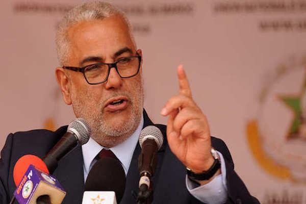 رئيس الحكومة المغربية عبد الإله ابن كيران