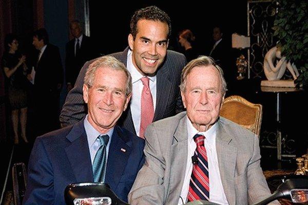 الرئيسان بوش ونجل جيب بوش